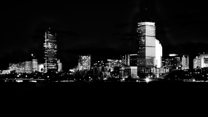 Black-and-White-Boston-Lights